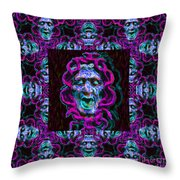 Medusa's Window 20130131m180 Throw Pillow by Wingsdomain Art and Photography