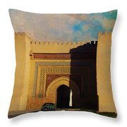 Meknes Throw Pillow by Catf