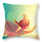 Melody Throw Pillow by Amy Tyler