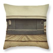 Memories In The Sand Throw Pillow by Evelina Kremsdorf