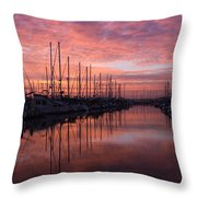 Memories Of Last Summer Throw Pillow by Heidi Smith