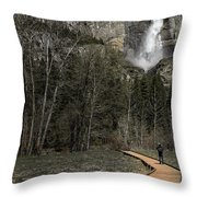Memories Of Yosemite Throw Pillow by Eduard Moldoveanu