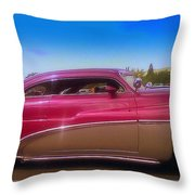 Mercury Rising Throw Pillow by Bobbee Rickard