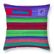 Merger Throw Pillow by David K Small