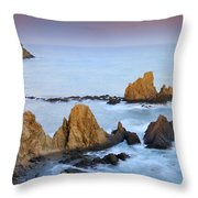Mermail Reef Throw Pillow by Guido Montanes Castillo