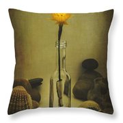 Message Of Love IIi Throw Pillow by Marco Oliveira