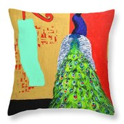 Messages Throw Pillow by Ana Maria Edulescu