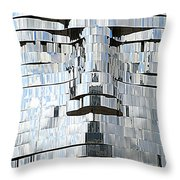 Metalmorphosis Spewing Throw Pillow by Randall Weidner