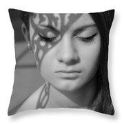 Metamorphosis Throw Pillow by Laura Fasulo