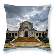 Meuse-argonne Tribute Throw Pillow by Chad Dutson