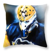 Michel Dion Throw Pillow by Mike Oulton