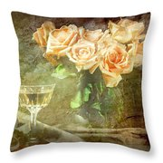 After Midnight Throw Pillow by Diana Angstadt