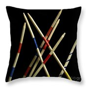 Mikado Throw Pillow by Bernard Jaubert