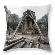 Minera Lead Mines Throw Pillow by Adrian Evans