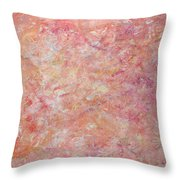 Minimal Number 6 Throw Pillow by James W Johnson
