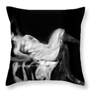 Miss shapen Chase Throw Pillow by Jessica Shelton