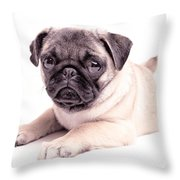 Miss You Throw Pillow by Edward Fielding