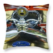 Model T Ford Throw Pillow by Robert Bales