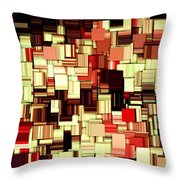 Modern Abstract Art Xvii Throw Pillow by Lourry Legarde