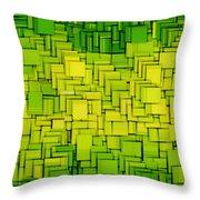 Modern Abstract Xxxiii Throw Pillow by Lourry Legarde