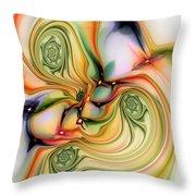 Moirai Throw Pillow by Anastasiya Malakhova