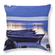 Mood Indigo Throw Pillow by Jon Glaser