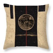 Moonset Throw Pillow by Carol Leigh