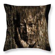 Morgan Freeman Roots digital painting Throw Pillow by Georgeta Blanaru