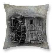 Morgan's Mill Throw Pillow by Paul Freidlund