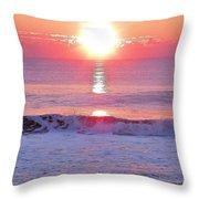 Morning Has Broken Throw Pillow by Kim Bemis
