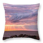 Morning Has Broken Throw Pillow by Mary Amerman