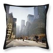 Morning In America Throw Pillow by Shaun Higson