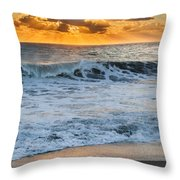 Morning Rays Square Throw Pillow by Bill Wakeley