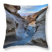 Mosaic Canyon Twilight Throw Pillow by Adam Jewell