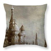 Moscow Throw Pillow by BERNARD JAUBERT