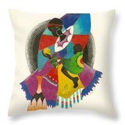 Mother And Child Throw Pillow by Natalie Collins