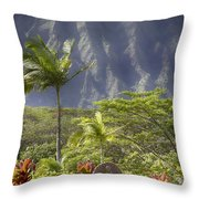 Mother Of Faith Throw Pillow by Douglas Barnard