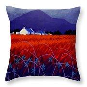 Mountain View  Throw Pillow by John  Nolan
