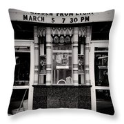Movie theater Throw Pillow by Rudy Umans