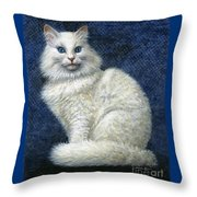Mrs. Moon Throw Pillow by Jane Bucci