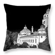Mueller'sches Volksbad - Munich Germany Throw Pillow by Christine Till