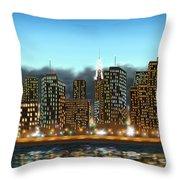 My Dream Throw Pillow by Veronica Minozzi