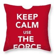 My Keep Calm Star Wars - Rebel Alliance-poster Throw Pillow by Chungkong Art