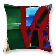 My Love  Throw Pillow by Bill Cannon