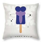 My Muppet Ice Pop - Gonzo Throw Pillow by Chungkong Art