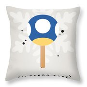 My NINTENDO ICE POP - Mini Mushroom Throw Pillow by Chungkong Art