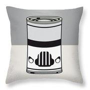 My Star Warhols Stormtrooper Minimal Can Poster Throw Pillow by Chungkong Art