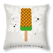 My Superhero Ice Pop - Aquaman Throw Pillow by Chungkong Art