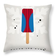My Superhero Ice Pop - Spiderman Throw Pillow by Chungkong Art