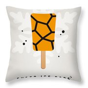 My Superhero Ice Pop - The Thing Throw Pillow by Chungkong Art